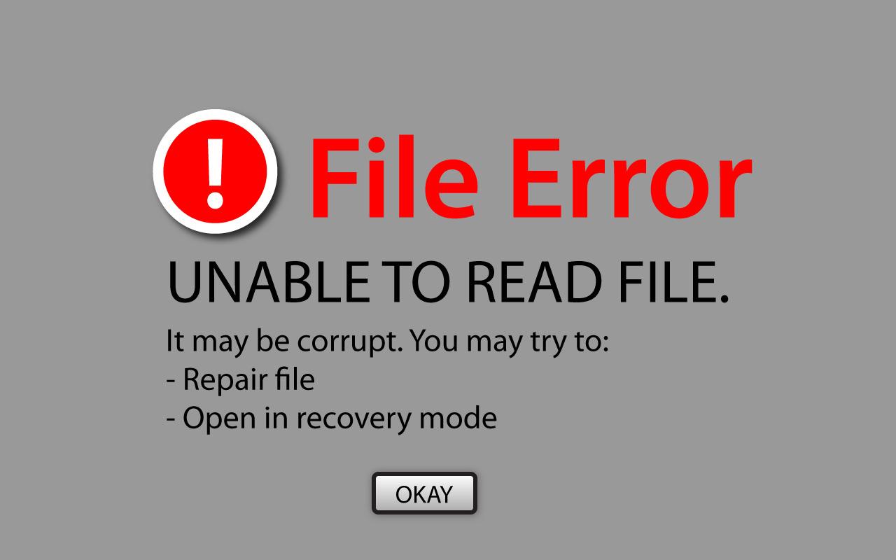 File-Error